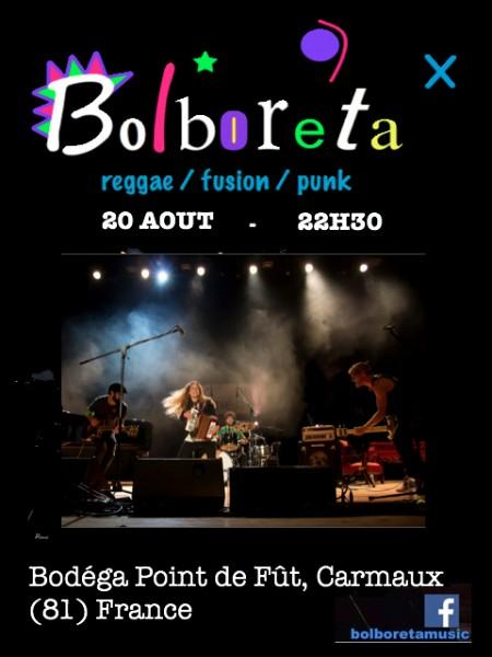 Bolboreta affiche 20 AOut Bis