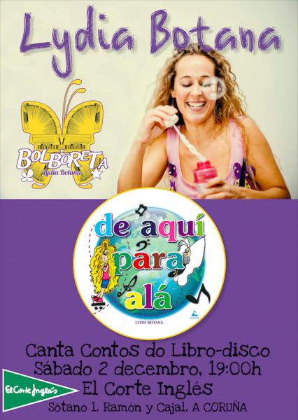 Cartel Corte Ingles Coruña